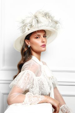 Hat Bridal Graciella Starling