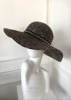 Hat Lady Leopard