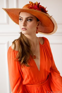 Hat Lady Orange - buy online