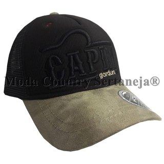 7356f2ceb1007 Boné Country Cowboy - Capim Gordura MCS7557