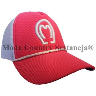 Boné Country Cowboy - Mangalarga Rosa MCS7558 9391cc57d2b