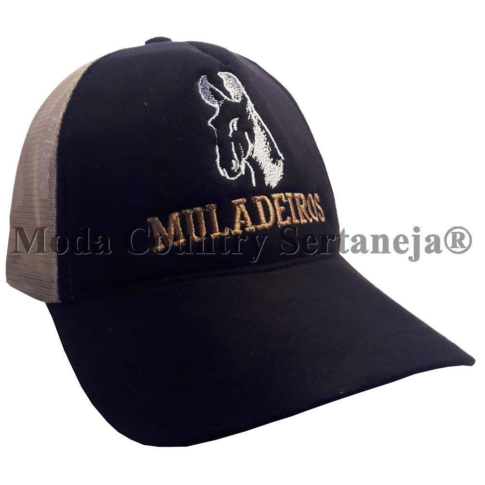 Boné Country Cowboy - Muladeiros MCS7559 cf1d5c57b04