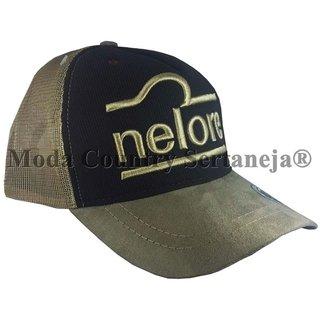 bd2feb9c5676e Boné Country Cowboy - Nelore MCS7533