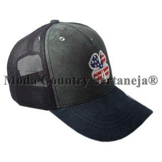 Boné Country Cowboy - Trevo Americano MCS7523 cfcb28f4692