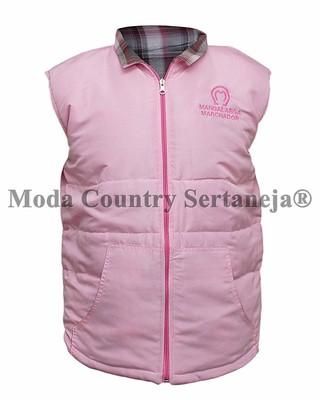 938079d067 Colete Country Mangalarga Dupla Face MCS7853