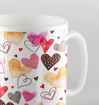 Caneca In Love na internet