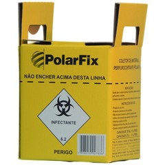 Coletor de Material Perfurocortante Polar Fix na internet