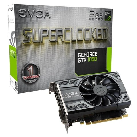 VGA PCI-E 2GB EVGA GTX1050 SC GAMING DDR5 G/6 MESES
