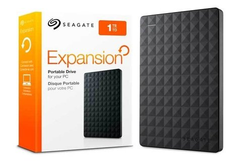 HD USB  1TB SEAGATE EXPANSION 3.0 G/6 MESES
