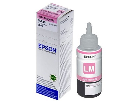EPSON T6736 MAGENTA LIGHT P/L800 70ML