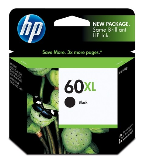 HP 60XL NEGRO CC641WL F4280 13.5ML