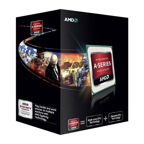 MICRO AMD APU  A6 7400K 3.5GHZ 1MB FM2+ G/12 MESES