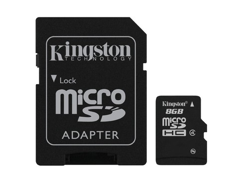 MEM MICRO SD CLASE4  8GB KINGSTON G/6MESES