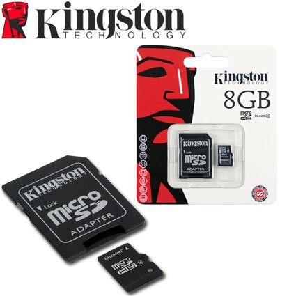 MEM MICRO SD CLASE4  8GB KINGSTON G/6MESES - comprar online
