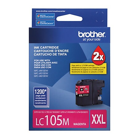 BROTHER LC105 MAGENTA