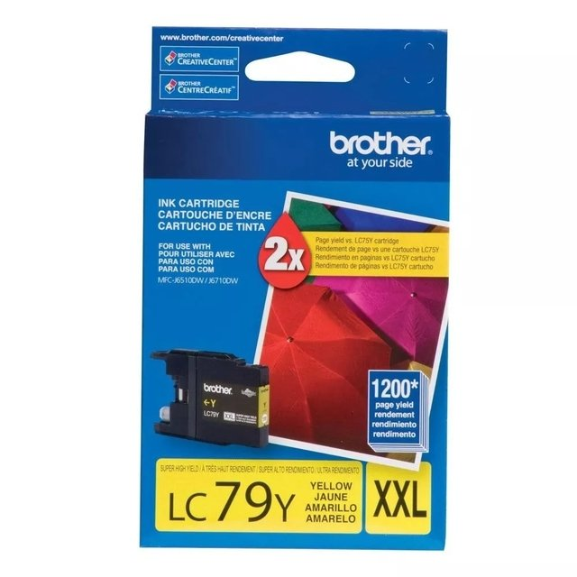 BROTHER LC79XL AMARILLO P/MFC-6710DW
