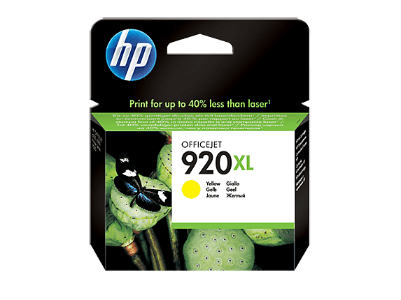 HP 920XL AMARILLO 6500/7500 7.5ML