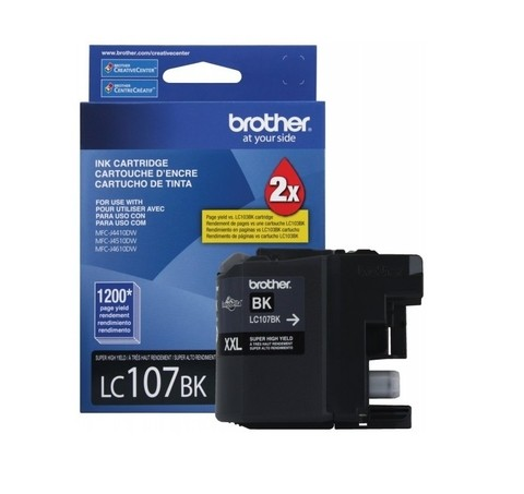 BROTHER LC107 NEGRO