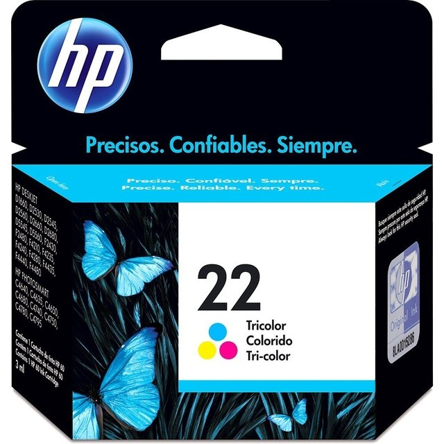 HP 22 COLOR 1410/F380/D1360/1410/F4180 6ML