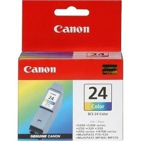 CANON BCI-24 COLOR PACK X2 UNIDADES IP1000/130/S200/I450