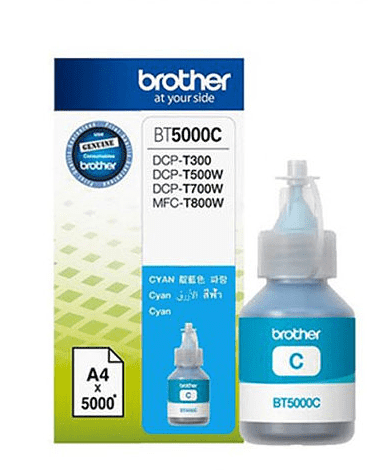 TINTA BROTHER CYAN BT5001C 41.8ML DCP-T300/500/700