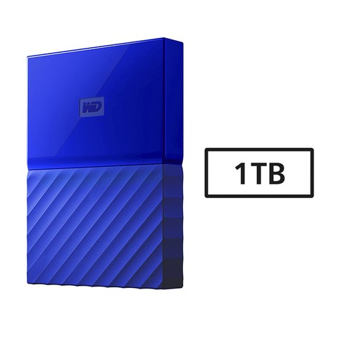 HD USB  1TB WD 3.0 MY PASSPORT AZUL G/6 MESES