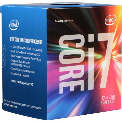 MICRO INTEL I7 6700 8MB/3.4GHZ S.1151 G/12 MESES