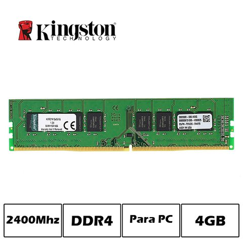 MEM DDR4 4GB PC2400 KINGSTON G/6 MESES