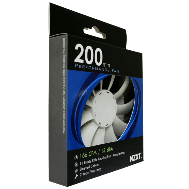 COOLER CHASIS NZXT PERFORMANCE 200MM G/1 MES - comprar online