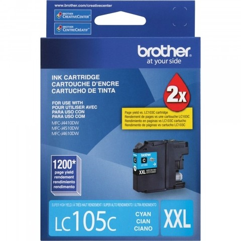 BROTHER LC105 CYAN