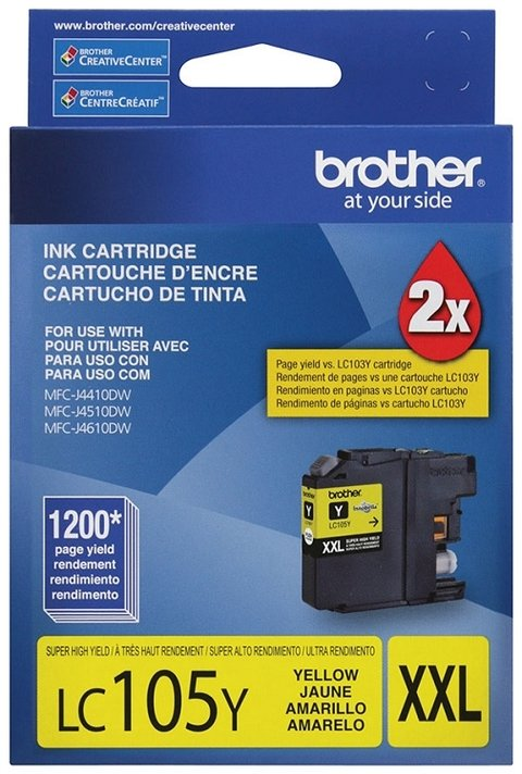 BROTHER LC105 AMARILLO