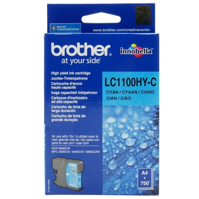 BROTHER LC1100HYC MFC490CW/MFC6490CN