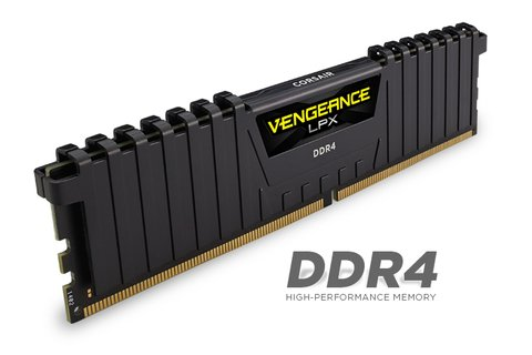 MEM DDR4 8GB PC2400 CORSAIR VENGEANCE G/6 MESES