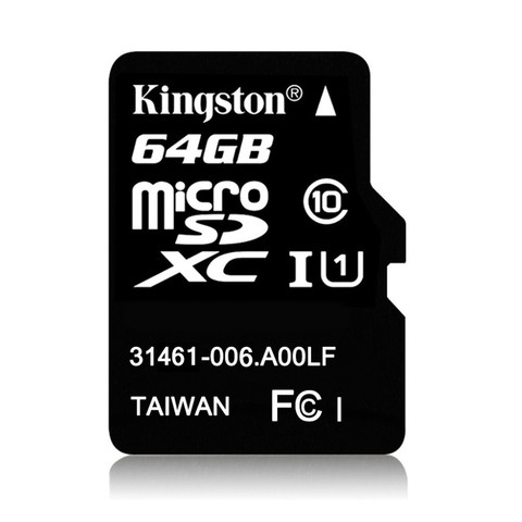 MEM MICRO SDHC CLASE10 64GB KINGSTON G/6 MESES