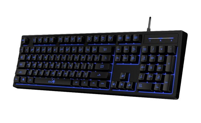 TECLADO USB GENIUS GAMING SCORPION K6 RETROILUMINADO G/1 AÑO