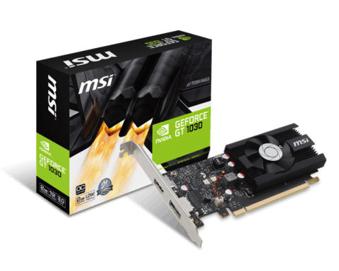VGA PCI-E 2GB MSI GEFORCE GT 1030 DDR5 G/6 MESES