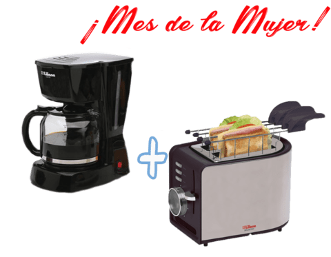 COMBO CAFETERO CAFETERA AC960+ TOSTARDORA AT906 G/12 MESES
