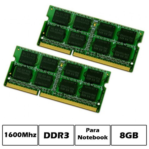 MEM NB DDR3 8GB PC1600 PCBOX LOW VOLTAGE G/6 MESES - comprar online