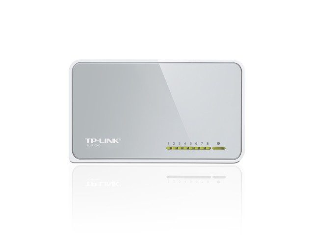 HUB SWITCH 8P TPLINK SF1008D 10/100MBPS G/6 MESES