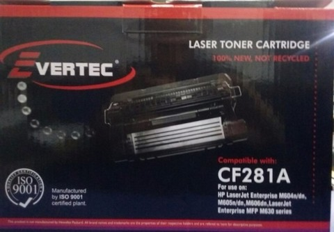 EVERTEC TONER HP CF281A