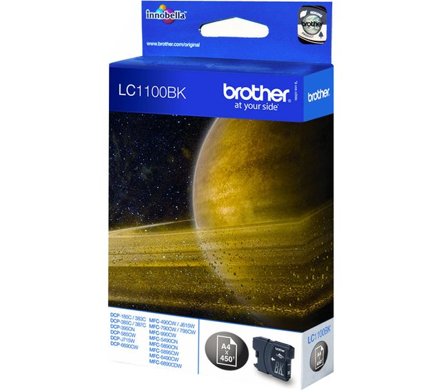 BROTHER LC1100BK MFC490CW/MFC5490CN