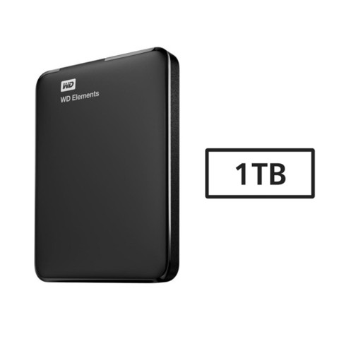 HD USB  1TB 3.0 WD ELEMENTS G/6 MESES