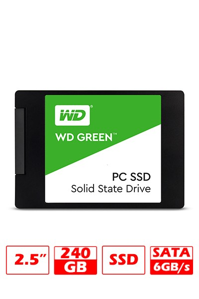 HD SSD 240GB WD GREEN SATAIII G/6 MESES - comprar online