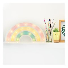 Mini ArcoIris Madera led A PILAS!! - Lucirte!