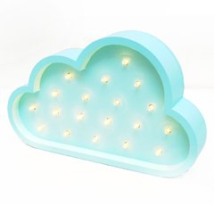 Nube Madera led A PILAS!! - Lucirte!