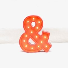 Ampersand madera led A PILAS!!