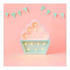 Mini Cupcake Madera led A PILAS!! en internet