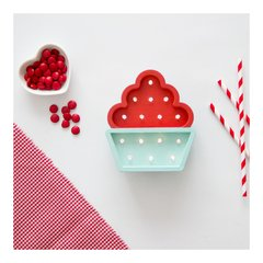 Mini Cupcake Madera led A PILAS!!
