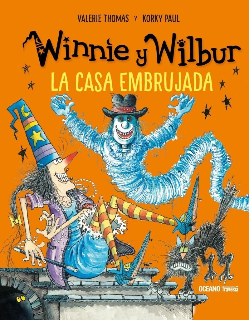WINNIE Y WILBUR: LA CASA EMBRUJADA - Valerie Thomas/Korky Paul - OCEANO TRAVESIA