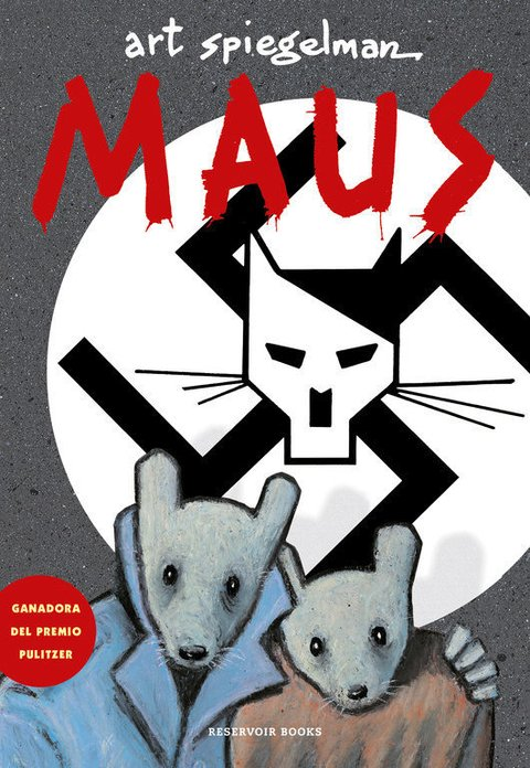 MAUS - ART SPIEGELMAN - RESERVOIR BOOKS